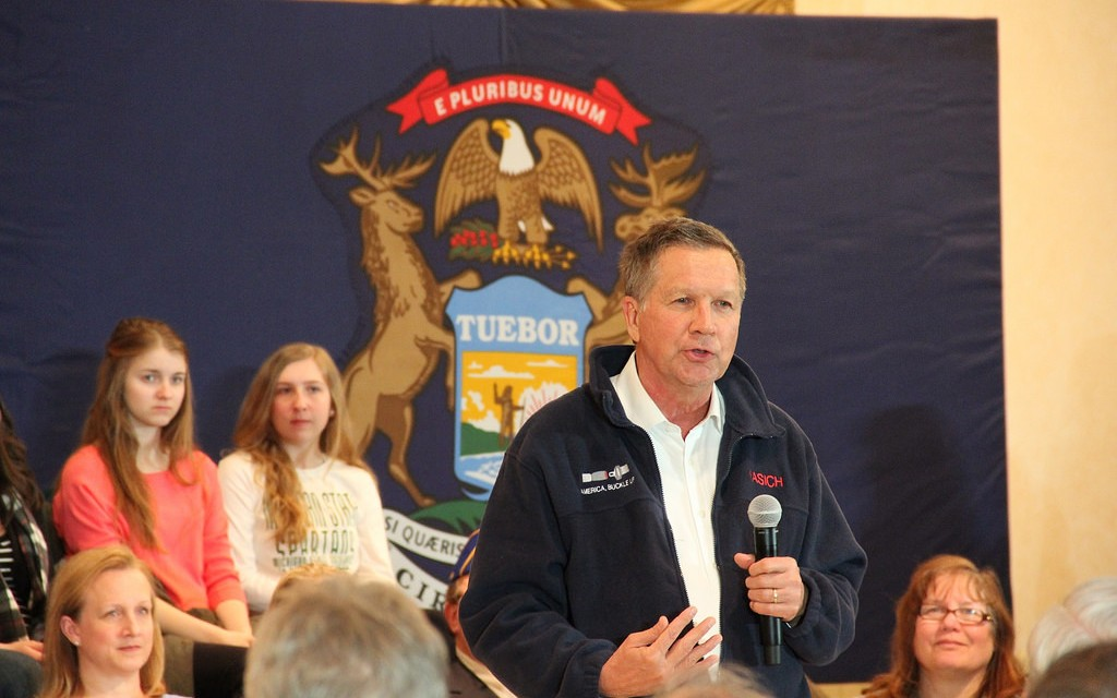 Kasich's campaign imploding in Michigan