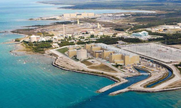 Ontario utility says public not concerned about lakeshore nuke dump
