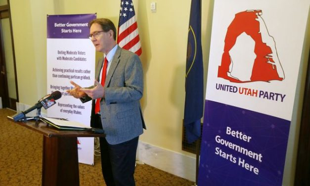 Frustrated Republicans, Dems form centrist party in Utah