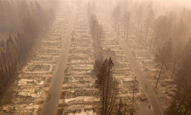 So, imagine the enormity of the California wildfire if it hit Michigan