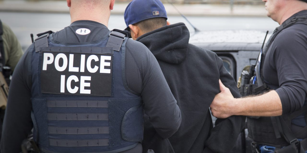 Number of U.S. companies charged with employing illegal immigrants? Zero